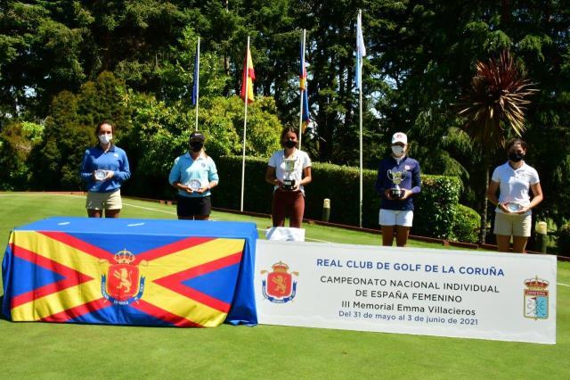 Notable actuación de M.Villanueva y P.Balanzategui en el Campeonato de España Amateur Femenino