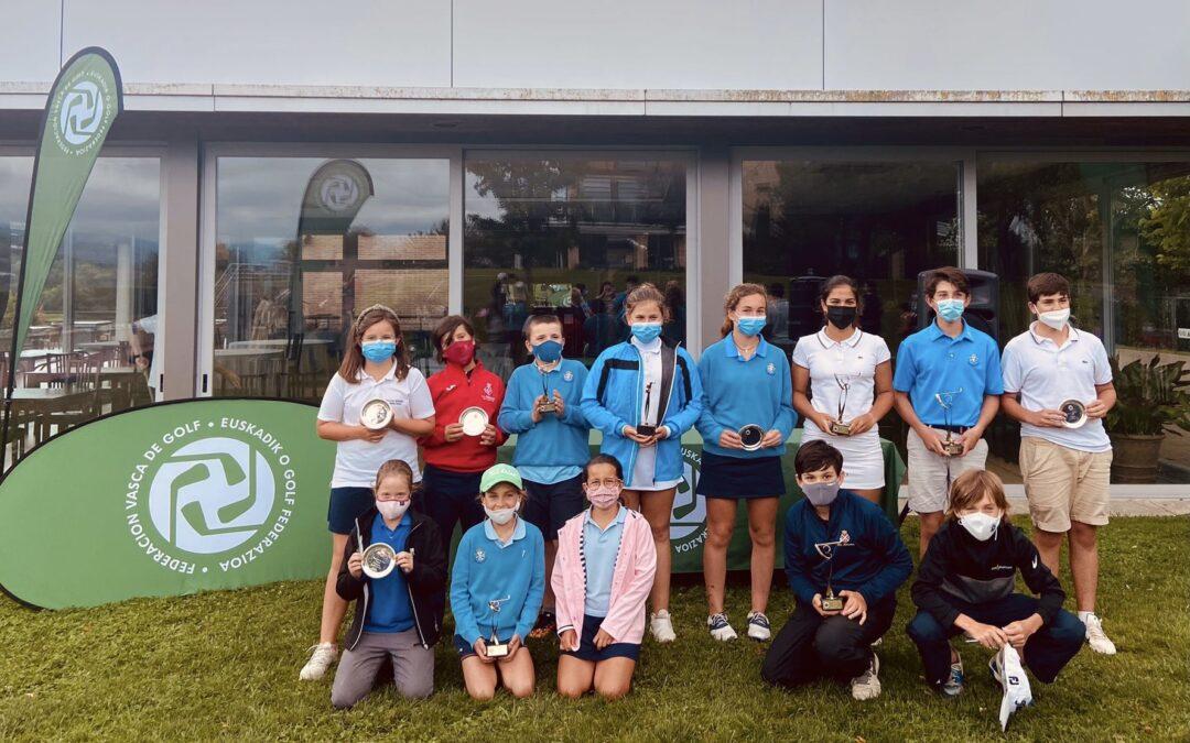 Arrieta/Iraola (Infantiles), Dearden/Iraola (Alevines) y Ortiz/Yriziar (Benjamines) Campeones del País Vasco Infantil