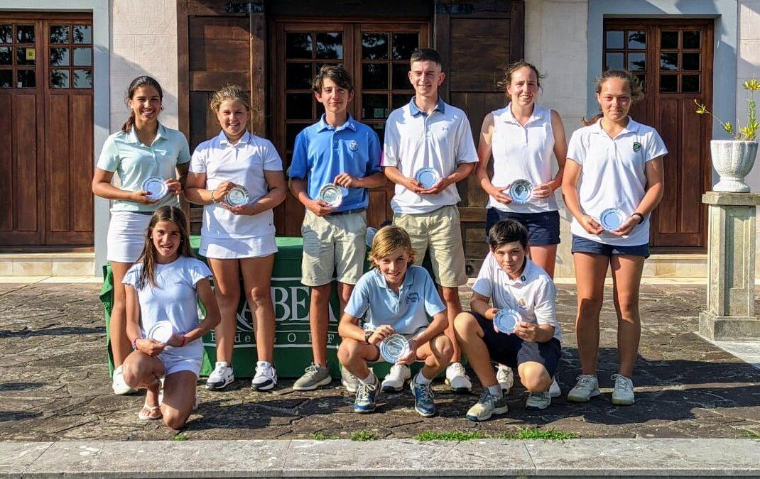 Fernández/Etxeberria (Cadetes), Arrieta/Iraola (Infantiles) e Dearden/Iraola (Alevines) ganadores del II Puntuable Zonal