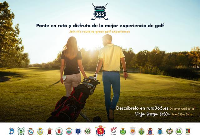 La RFEG y las FFAA impulsan Ruta 365, una acción de promoción de reactivación del turismo nacional de golf