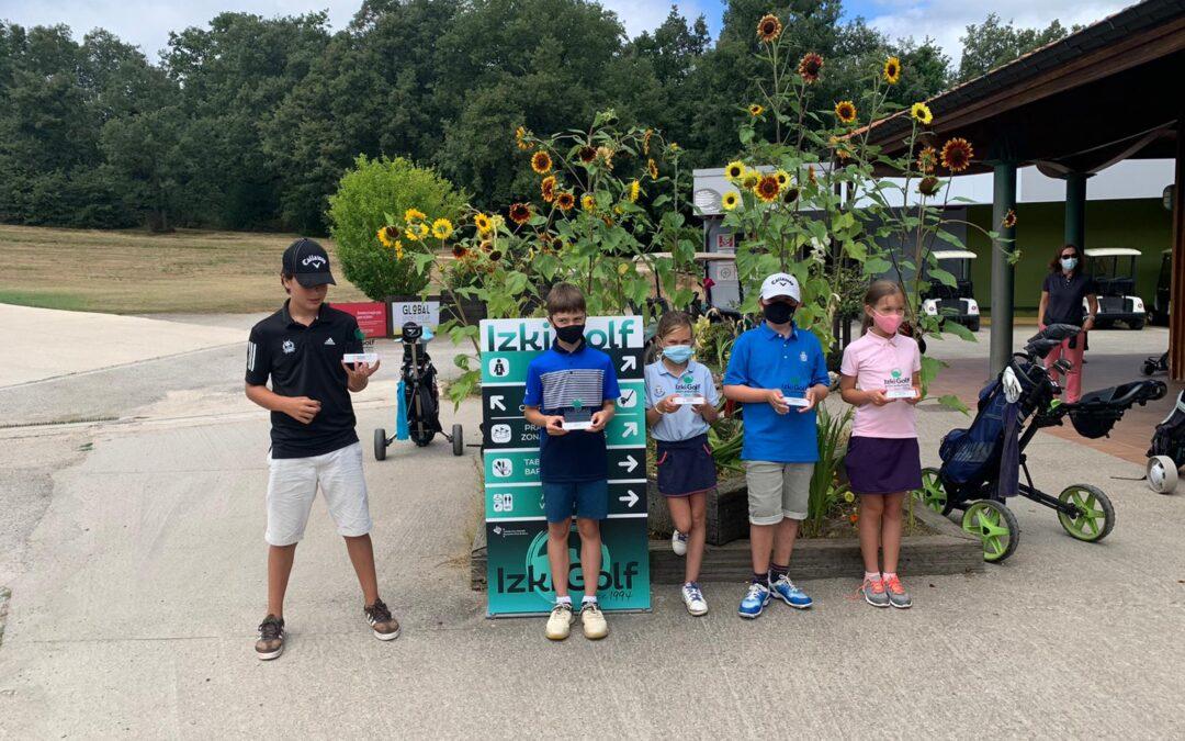 Los hermanos Enguita y Blanca Yrizar los mejores en el Campeonato Infantil de Izki