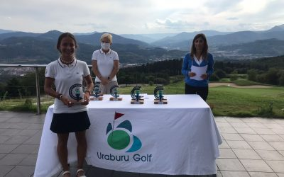 Gonzalo San Roman y Carla Vidal Campeones de Uraburu