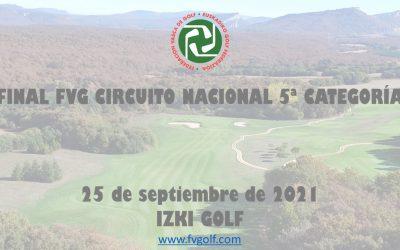 Jugadores Clasificados (Confirmen participación) – Final Autonómica FVG Circuito 5ª
