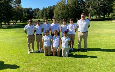 El equipo vasco se clasifica en octava posición en el Campeonato de España de FFAA Infantil
