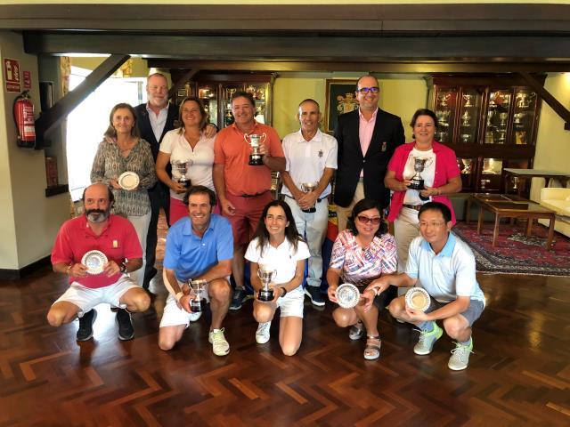 Discreta actuación de Santiago Eizaguirre y Amaya Chavarri en el Campeonato de España Dobles Senior Mixto