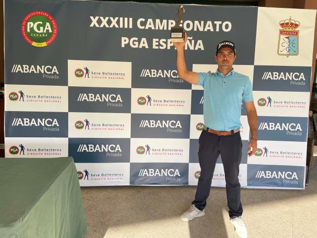 Buen papel de Borja Martin en el XXXIII Campeonato de la PGA de España